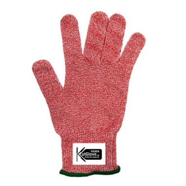 Tucker Safety Products® KutGlove™ Cut Resistant Glove, Red, Small, 13 Gauge - RFS295/94532