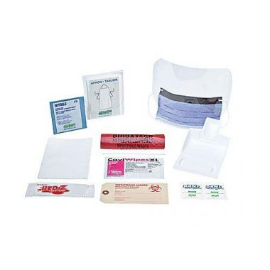 BIOHAZARD CLEAN-UP SPILL KIT, DELUXE