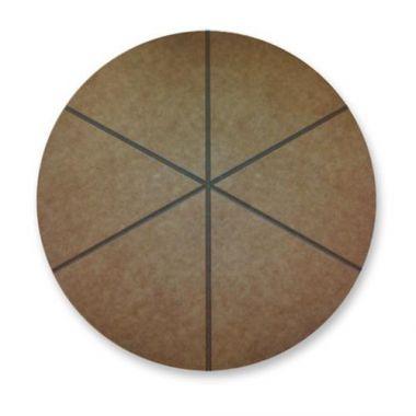 "San Jamar®Round Cutting Board w/6 Grooves, 20"" - RFS702/TC4812014"
