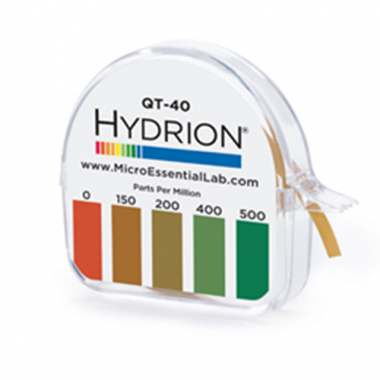 Micro Essentials® Hydrion Papers, 0-500PPM - RFS1035/QT-40