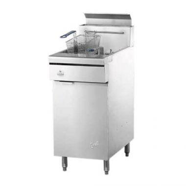 "Quest® Gas Fryer, Natural Gas, 46.5"" - RFS2163/110-FRYMV40(NG)"