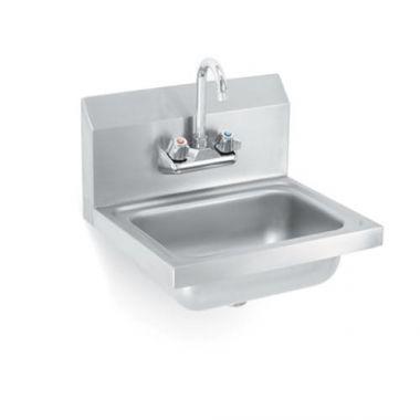 Vollrath® Sink w/Strainer & Gooseneck Faucet - RFS1900/K1410-C