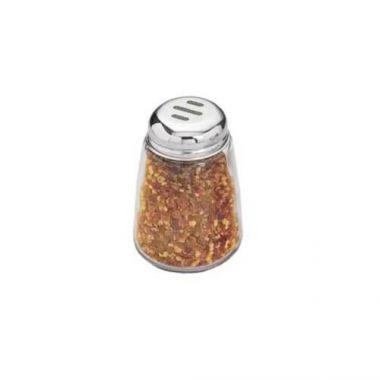 American Metalcraft® Spice Shaker, Glass / Stainless Steel, 8 oz - RFS035/3309