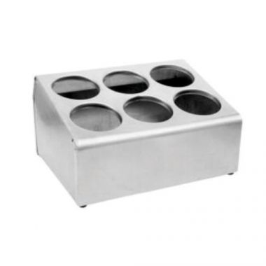 Johnson-Rose® Stainless Steel Flatware Cylinder Holder - RFS100/FCH-6