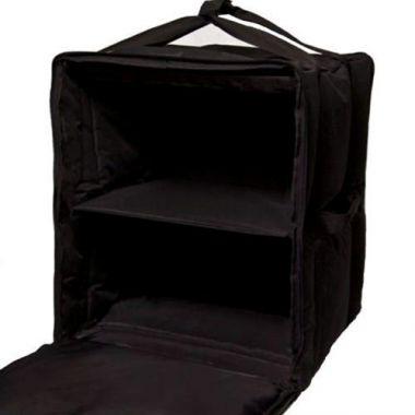 "A+ Bags® Semi Rigid Delivery Bag, Black, Large, 17"" x 17"" x 23"" - RFS2264/PBF10/1416SB"
