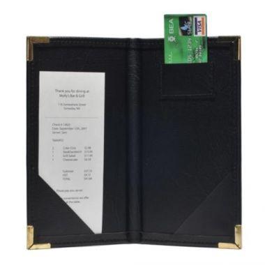 "Universal Bindery® Deluxe Naugahyde Check Holder, 9""x 5"" - RFS606/14A"