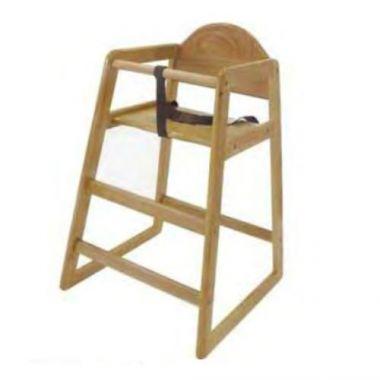 Magnum® High Chair w/Strap, Natural Mahogany - RFS376/MAG4505
