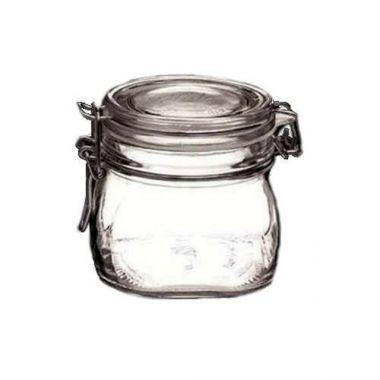 Steelite® Glass Jar w/Swing Top Lid, 19 oz - RFS066/4949Q457