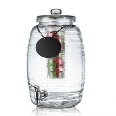 Tablecraft® Beehive Beverage Dispenser w/ Infuser, 2.5 Gal - RFS558/BDG1000