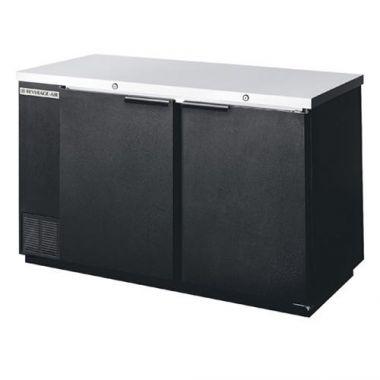 """Beverage-Air® Back Bar Refrigerator, Black, 2-Door, 58""""- RFS783/BB58-1-B"""