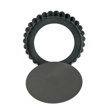 "Browne® Low Rim Quiche Pan w/Removable Bottom, 4.75"" - RFS016/80293480"