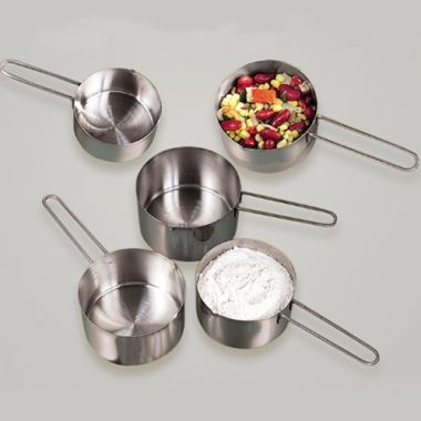 American Metalcraft® Stainless Steel Measuring Cup, 1/2 Cup - RFS035/MCW12