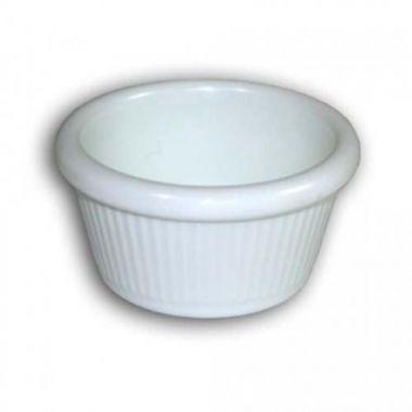 Carlisle® Fluted Ramekin, White, 2 oz - RFS376/S279 WHITE