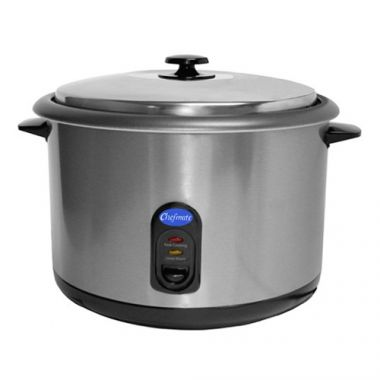 Chefmate® by Globe Rice Cooker/Warmer, 25 Cup - RFS817/RC1