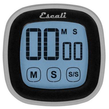 Escali® Touch Screen Timer, Black - RFS702/TMDGTS