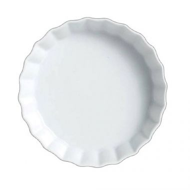 "Steelite® Varick Crème Brulee Dish, White, 4.75"" - RFS066/6900E552"
