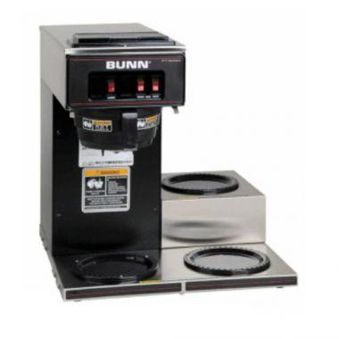 BUNN® Coffee Brewer (Coffee Maker) w/3 Lower Warmers - RFS017/13300.6004
