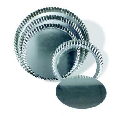 "Browne® Round Quiche Pan w/Removable bottom - 11""- RFS016/80126640"
