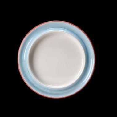 """Steelite® Freedom™ Raised-Rim Plate, Blue, 8-3/8""""- RFS066/15310123"""