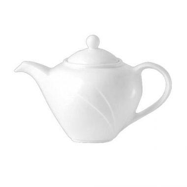 Steelite® Alvo™ Tea Pot, White, 12 oz (6/CS) - RFS066/9300C554