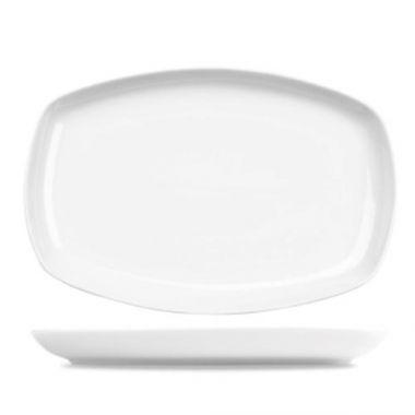 """Churchill® Rectangular Platter, White, 9.25"""" x 14"""" (6/CS) - RFS1063/ZCAPRCPL1"""