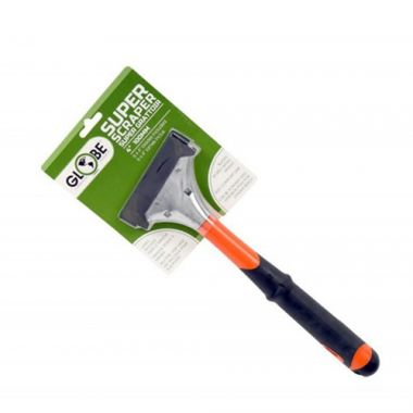 """Globe® Heavy Duty Scraper, Long Handle W/ 5 Blades, 12"""" - RFS2215/4200"""