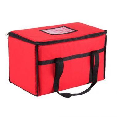 San Jamar® Delivery Bag, Red,  22€ x 12€ x 12€- RFS702/FC2212-RD