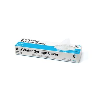 """Quala Air/Water Syringe Sleeve 2.5"""" x 10"""" with Opening 500/box"""