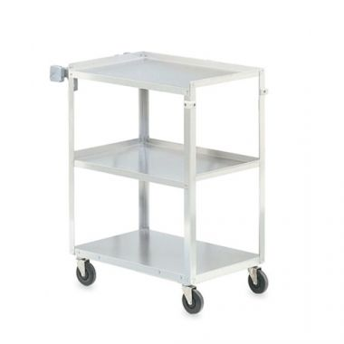 "Vollrath® Stainless Steel Utility Cart, 27.5""x15.5""x32"" - RFS1900/97120"