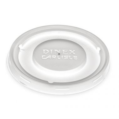 Carlisle® Dinex® Turnbury® Disposable Mug & Bowl Lid, Translucent (1500) - RFS509/DX30008714