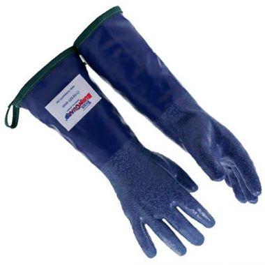 """Tucker Safety Products® SteamGlove™ Nitrile Utility Glove, Blue, Medium, 14"""" (PR) - RFS295/92143"""