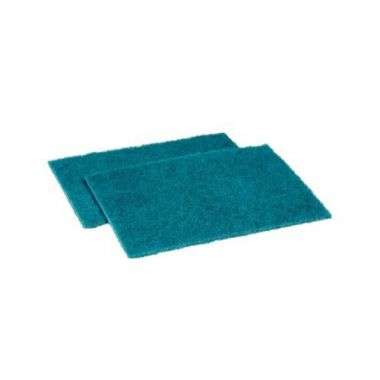 "Niagara Medium Scouring Pad, Green, 6""x9"" - RFS464/H-96N-6X9-10/10"