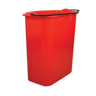 Globe® Dirty Water Replacement Bucket, Red - RFS2215/5036