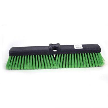 "Globe® Push Broom, Medium, Green, 18"" - RFS2215/5055G"