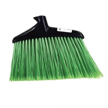 Globe® Jumbo Angle Broom Head, Green (PK/4) - RFS152/FG253100BLA