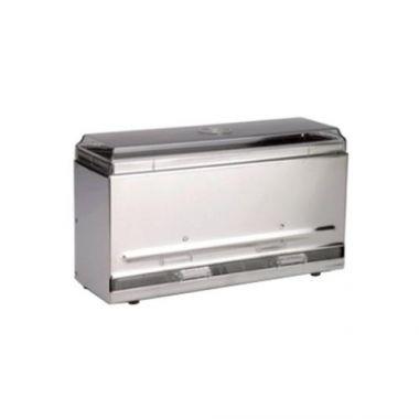 Vollrath® One-Sided Bulk Straw Dispenser, Stainless Steel - RFS1900/3820-28