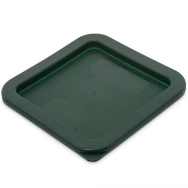 Carlisle® StorPlus™ Square Container Lid, Dark Green, 2-4 qt- RFS376/10740 08