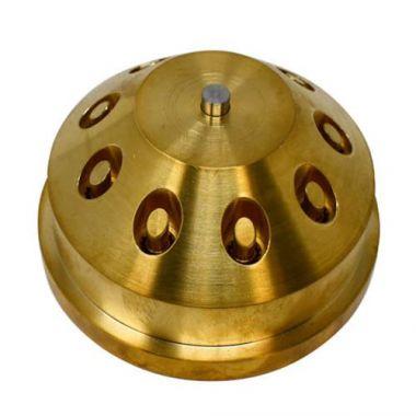 Omcan® Penne Die for TRD110 Pasta Extruder, Brass - RFS141/31531