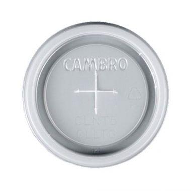 Cambro® Camlid™ Disposable Lid for 6.4 oz Newport Tumbler NT5, Translucent  (1500/CASE)  - RFS025/CLNT5190