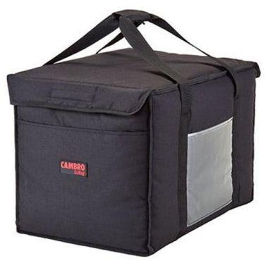 "Cambro® GoBag™ Folding Delivery Bag, Black, Large, 21"" x 14"" x 14"" - RFS025/GBD211414110"