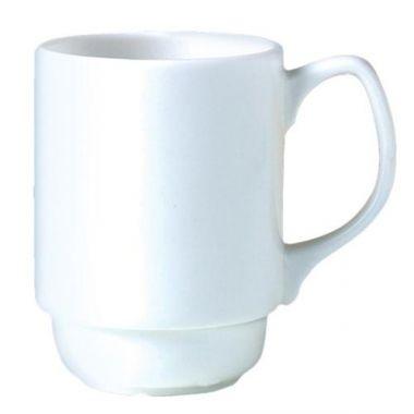 Steelite® Monaco Vogue Stacking Beaker, White, 9 Oz  (2DZ) - RFS066/9001C399