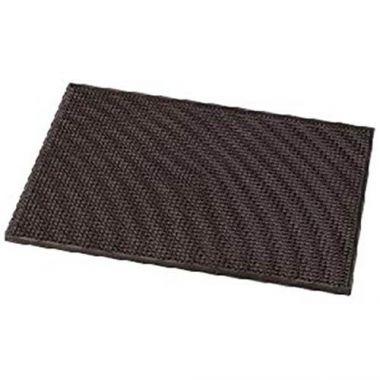 "Rabco® Rubber Service Mat, Brown, 12"" x 18"" - RFS376/10601 01"