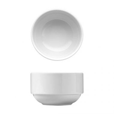 Corby Hall® Synergy™ Stacking Boullion Bowl, White, 9 oz - RFS2235/V0081563