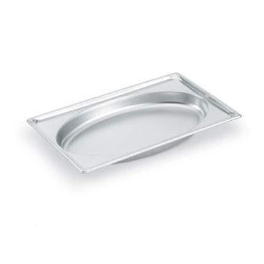 "Vollrath® Super Pan®¢ Super Shape Full Oval Pan, 2.5"", 4.8 Qt - RFS1900/3101020"