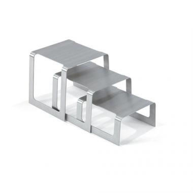 Vollrath® Square Bent Buffet Risers, Set of 3 - RFS1900/46009