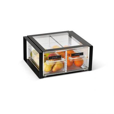 Vollrath® Cubic Acrylic Display Bin, 2/3 Size,  - RFS1900/SBB23F-06