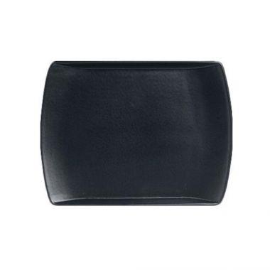 "Steelite® Anfora™ Rectangular Entrée Platter, Black, 9.75"" x 7"" - RFS066/A901P027"