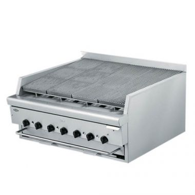 """Quest® Stainless Steel Flavouring Charbroiler, Propane, 34"""" - RFS2163/105-FBQBD34(LP)"""