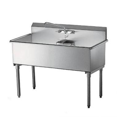 """Quest® Double Heavy Duty Stainless Steel Sinks, 18"""" Sinks - RFS2163/123-SE22218"""