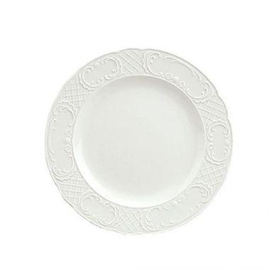 """Syracuse® Marquis Plate, Continental White, 11-1/8"""" (6EA/CS)- RFS289/9060028"""